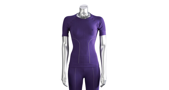 Falke Skiing Athletic Fit Women Shirt purple